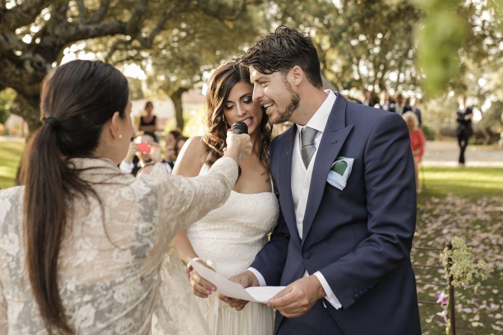 Fotografía de boda creativa en la naturaleza