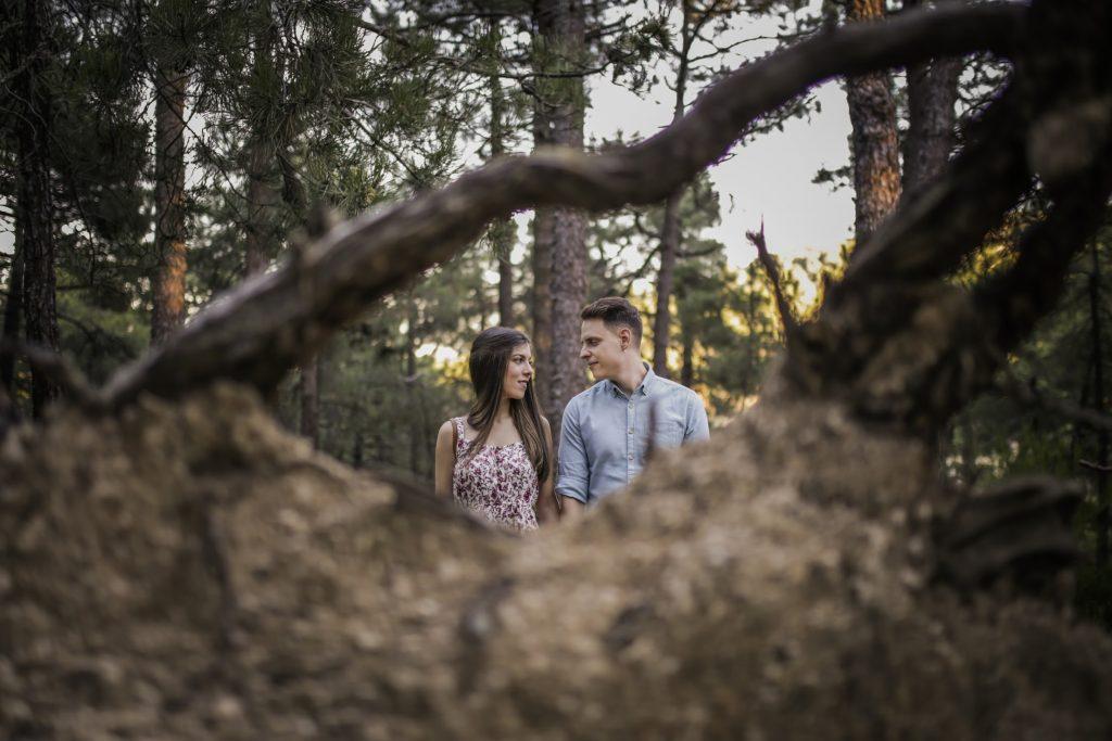 Fotografía de boda en la naturaleza