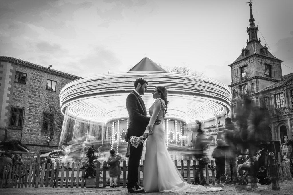 Fotografía de boda profesional en exterior