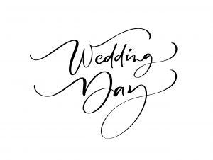Imagen decorativa para la sesión de fotos de boda